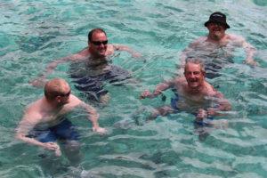 27 degree swim
